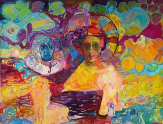 Aloriana, akvarelli 2006