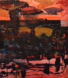 Katos, akvarelli 2018, 58x65