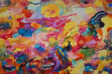 Marino, akvarelli 2017, 65x70